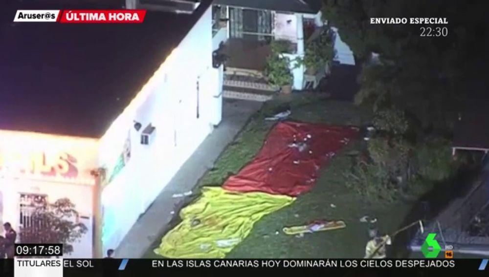 Tiroteo en una vivienda en California: al menos tres muertos y nueve heridos
