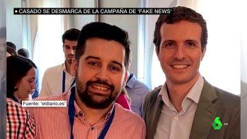 El miembro de NNGG que pagó la campaña junto a Pablo Casado