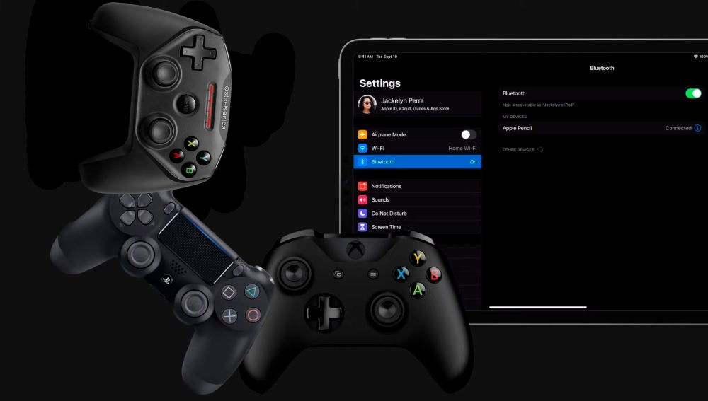 iPad Gamepads