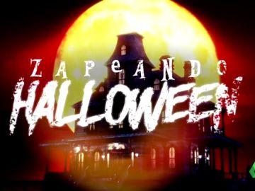Calabazas, arañas, lápidas, calaveras... así ha quedado el plató de Zapeando con la celebración de Halloween