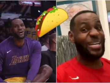 El origen del 'Taco Tuesday' de LeBron James