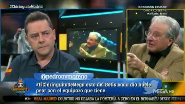 """Tomás Roncero estalla contra Jorge D'Alessandro en 'El Chiringuito': """"Has estado fuera de lugar"""""""