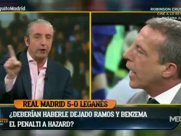 """Josep Pedrerol deja retratado a Cristóbal Soria: """"Venga, me voy a remangar"""""""