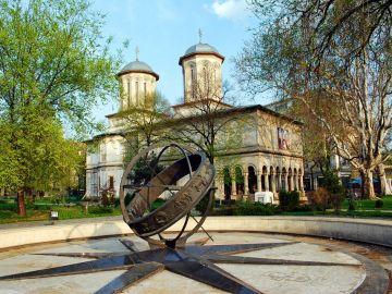 Iglesia ortodoxa en Bucarest