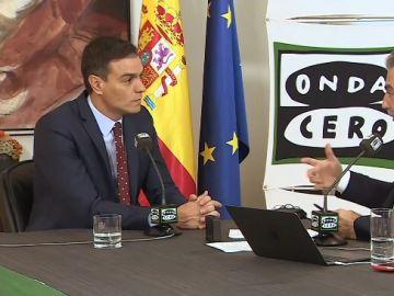 El presidente del Gobierno en funciones, Pedro Sánchez, en Más de uno