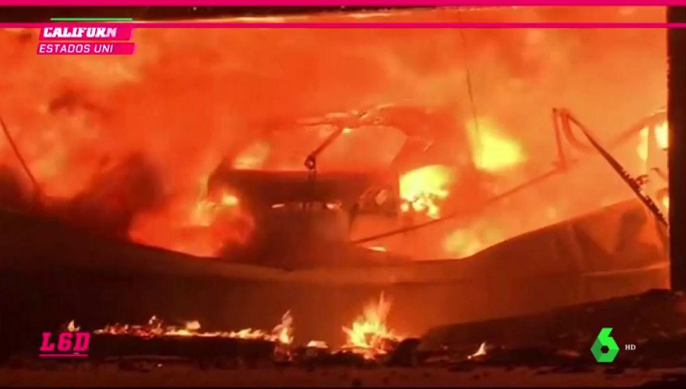 La mansión de 20 millones de dólares de Lebron James, en serio peligro por los incendios de Los Ángeles