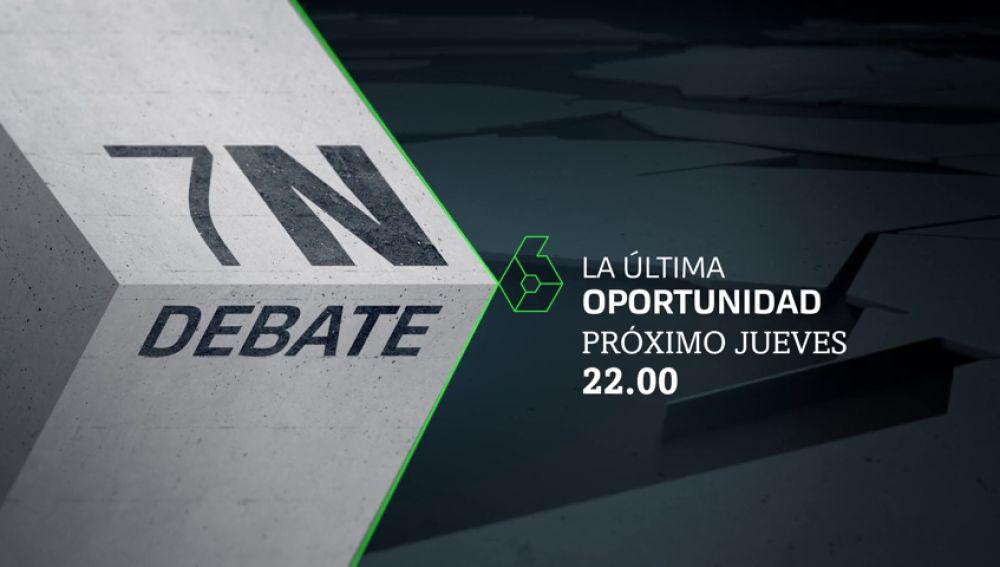 El 10N se decide en laSexta: el lunes y el jueves puedes seguir los dos debates a partir de las 22:00 horas