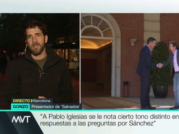 """Pablo Iglesias se enfrenta al desencanto de sus militantes en Salvados: """"La idea era que Sánchez también estuviera, pero no aceptó"""""""