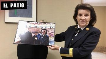 Paloma, la ujier más famosa del Congreso