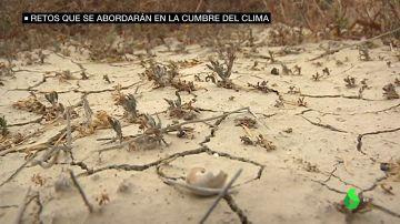 Imagen de un paisaje seco por el cambio climático