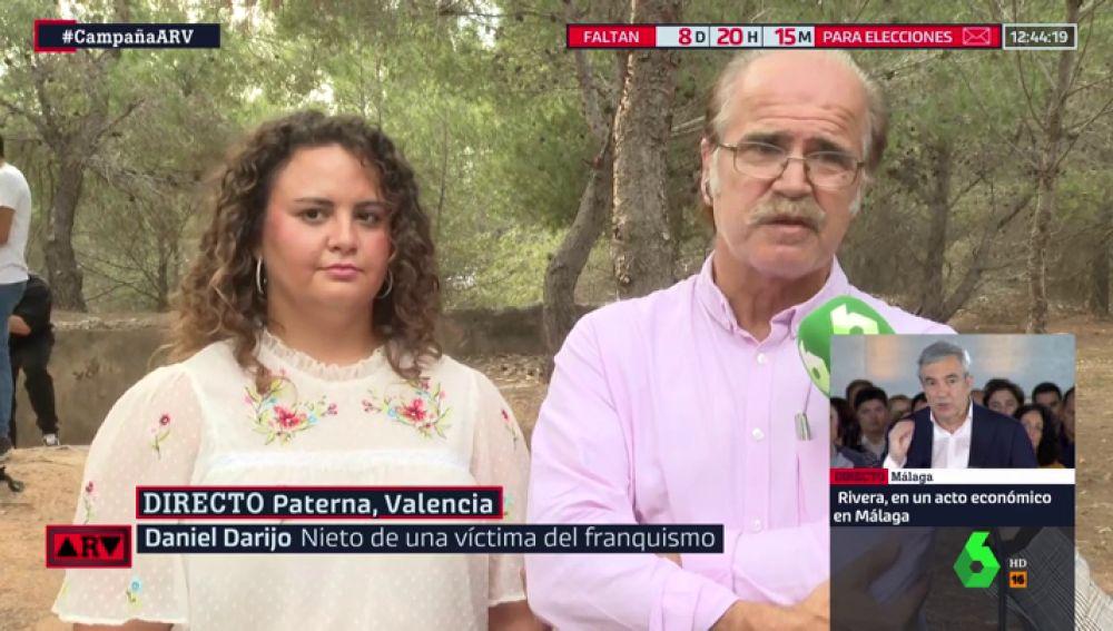 Rafael Darijo, nieto de una de las víctimas del franquismo