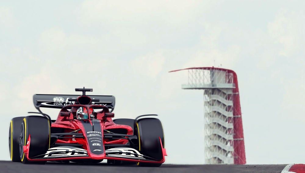 F1 2021 LAUNCH RENDERING