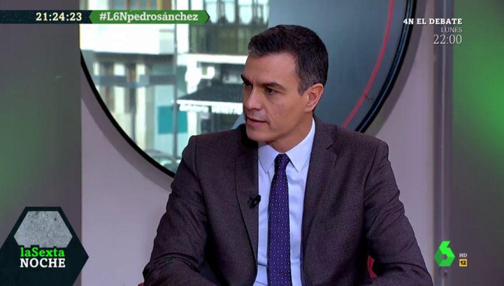 """Pedro Sánchez: """"El PP está detrás de la campaña de intoxicación. Si antes se financiaban en 'B', ahora tienen una campaña en 'B'"""""""
