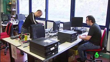 Reparación de ordenadores para su reutilización