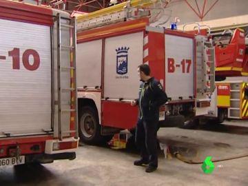 Imagen de un parque de bomberos de Málaga
