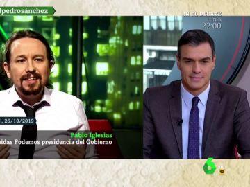 """La pregunta de Sánchez a Iglesias: """"¿Va a seguir sumando sus votos a la derecha y la ultraderecha para bloquear un gobierno progresista?"""""""