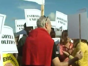Protesta en Lledoners