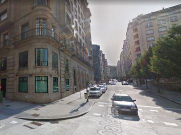 Imagen de la calle Federico Tapia en A Coruña