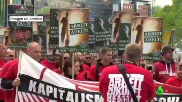 Imagen de archivo de una manifestación en Alemania