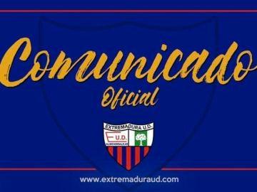 Comunicado oficial del Extremadura
