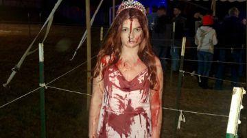 Sidney Wolfe en la fiesta de Halloween