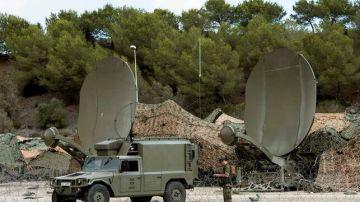Imagen de archivo de militares españoles