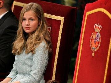 Imagen de archivo de la princesa Leonor