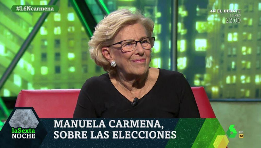 Manuela Carmena en laSexta Noche