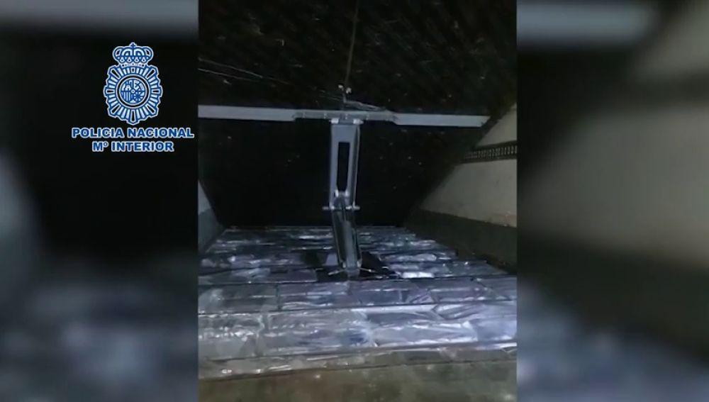 Detenidas 28 personas que usaban un 'narcocamión' en el Campo de Gibraltar
