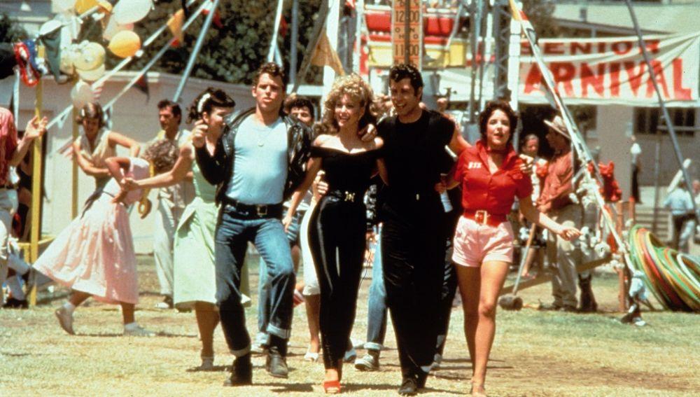 Imagen de la película Grease