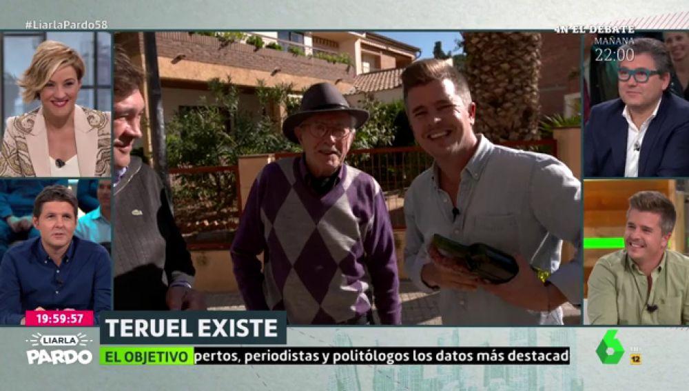 """Hablamos con el tío abuelo de Cristina Pardo: """"Quien haga algo por Teruel es bueno"""""""