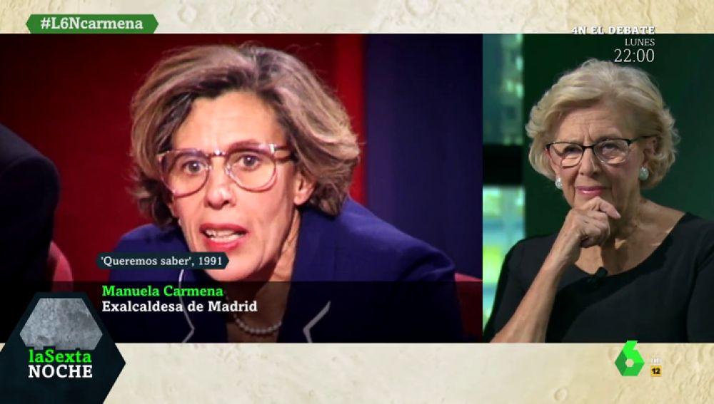 Así fue el contundente discurso en el que Manuela Carmena ya defendió el 'No es no' en 1991