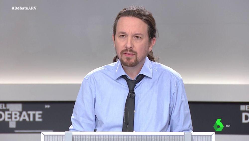 """Iglesias: """"Me temo que Cataluña va a ser la excusa para que el PSOE busque un acuerdo con el PP"""""""