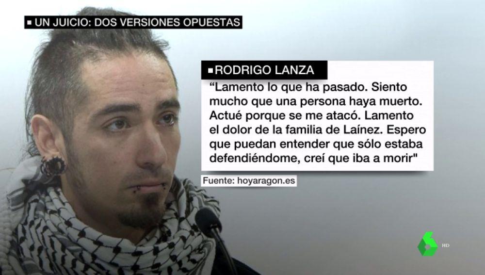El radical cambio de imagen de Rodrigo Lanza dos años después de la muerte de Víctor Laínez