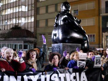 Concentración en Oviedo contra la sentencia a la Manada de Manresa
