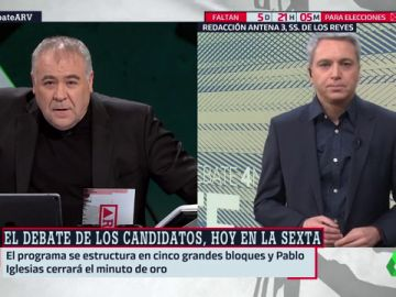 Vicente Vallés desvela las claves del debate de los candidatos