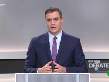 """Pedro Sánchez: """"Vamos a incorporar en el Código Penal un nuevo delito para prohibir la celebración de referéndum ilegales en Cataluña"""""""