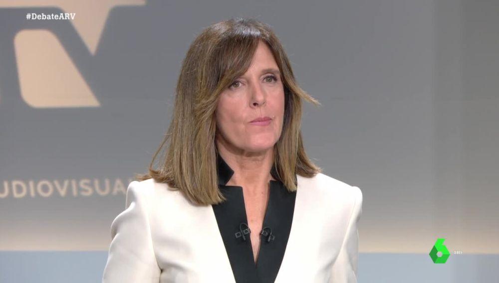 Ana Blanco en el debate 4N