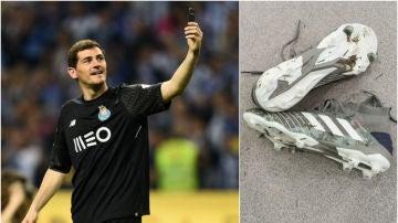 Iker Casillas vuelve a ponerse las botas