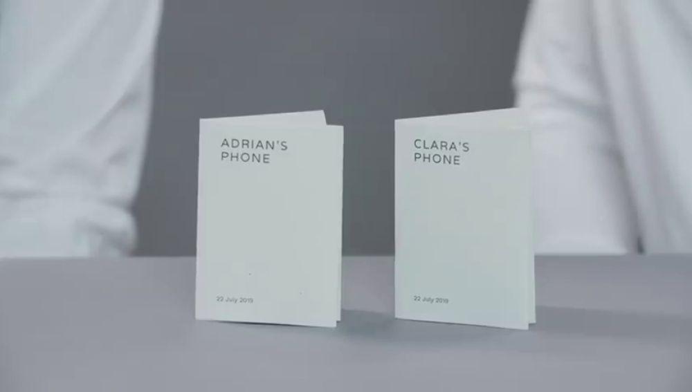 'Paper phone', un móvil de papel para desconectar de la tecnología durante un día