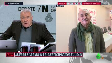 Pepe Álvarez en Al Rojo Vivo