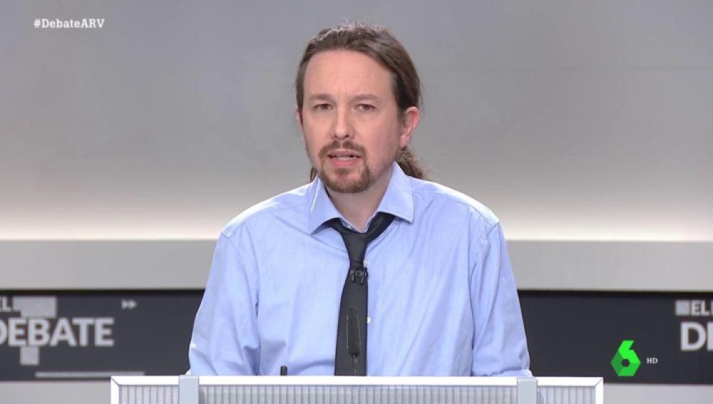 """El lapsus de Iglesias al confundir """"mamadas"""" con """"manadas"""" se convierte en el momento viral del debate"""