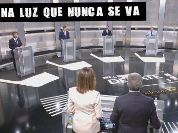 Ana Blanco destacó en el debate la falta de igualdad, con cinco hombres como candidatos.