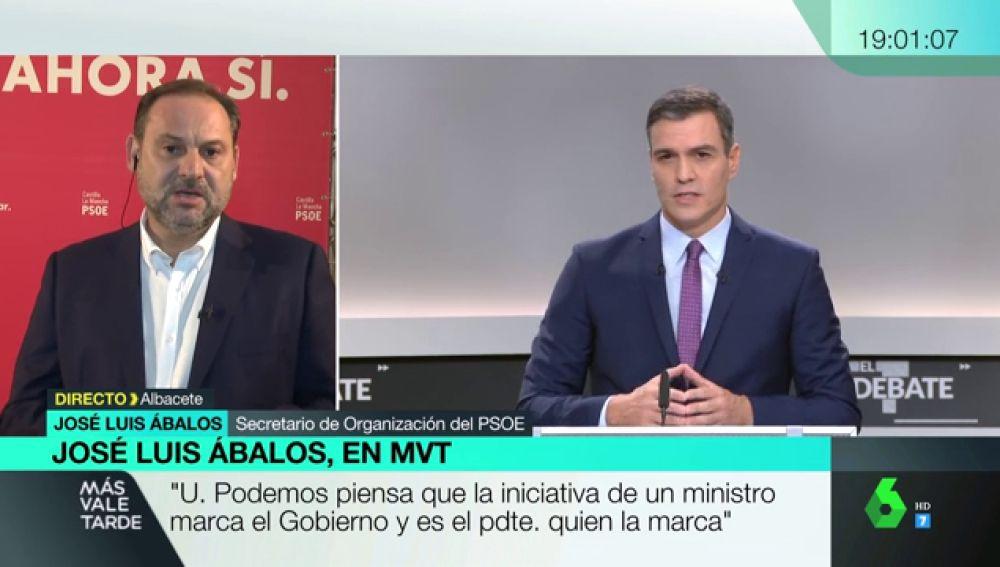 """José Luis Ábalos, sobre un pacto con UP: """"Hay que procurar llegar a acuerdos en aquello que nos une"""""""