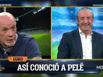La genial anécdota de Alfredo Duro con Pelé en un baño