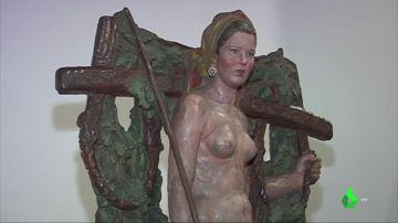 """Intrahistoria de la 'Santa', la escultura """"provocadora"""" prohibida por el franquismo que ahora ha vuelto a Galicia"""
