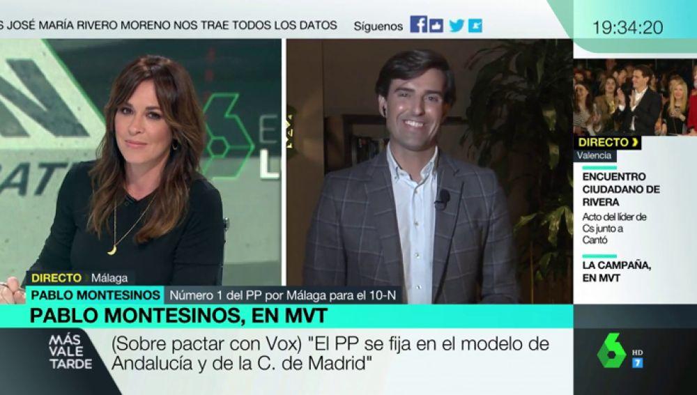 """Pablo Montesinos (PP): """"Sánchez quiso que el debate se celebrara ayer porque no quería que hoy estuviéramos hablando del paro"""""""