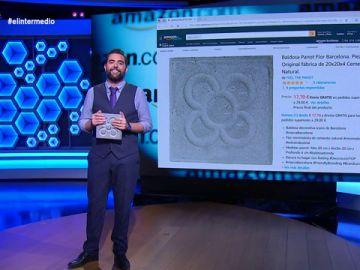 El adoquín que mostró Albert Rivera en el debate a cinco se vende en Amazon por 17 euros