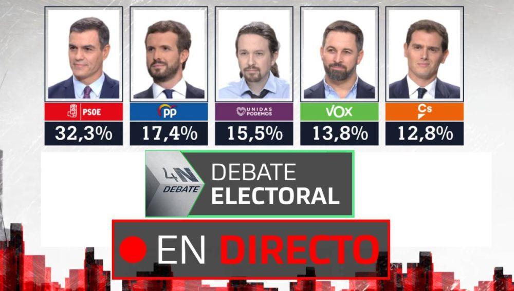 Debate electoral | Elecciones 2019: Reacciones y últimas noticias EN DIRECTO