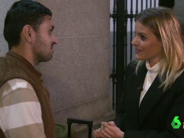 """Andrea Ropero descubre el día a día de un solicitante de asilo: la calle es """"todo lo que les queda"""""""